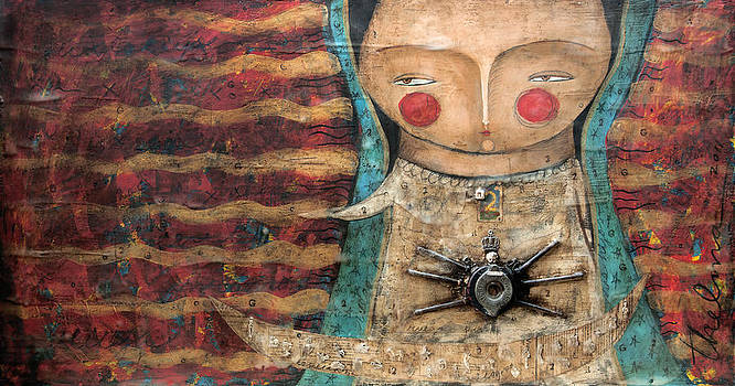 Virgen de Guadalupe by Thelma Lugo