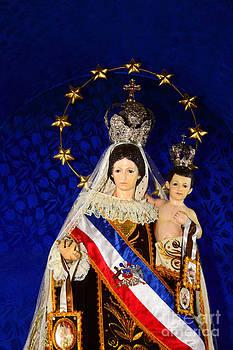 James Brunker - Virgen del Carmen Portrait Chile