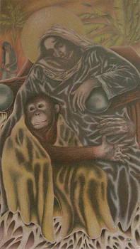 Virgin of the Bananas by Bryan Haynes