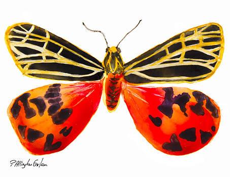 Virgin Tiger Moth by Patricia Allingham Carlson
