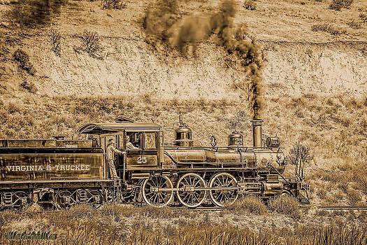LeeAnn McLaneGoetz McLaneGoetzStudioLLCcom - Virginia and Truckee Rail Road Gold Rush