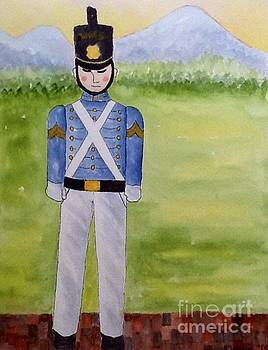 Virginia Military Institute Cadet by Bonnie Wright