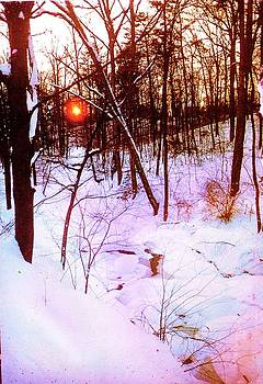 Anne-Elizabeth Whiteway - Virginia Snowy Sunrise