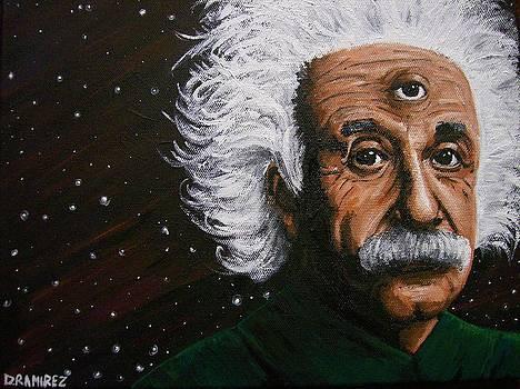 Visionary Einstein by Daniel Ramirez