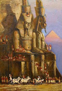 Visit Pharaoh by Valentina Kondrashova