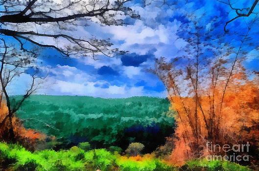 Vivid Landscape by George Paris