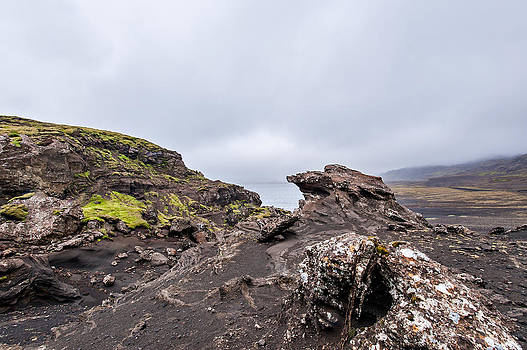 Volcanic Formations Iceland by Kay Price