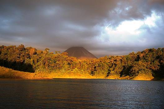 Volcano Lake by Julia Ivanovna Willhite