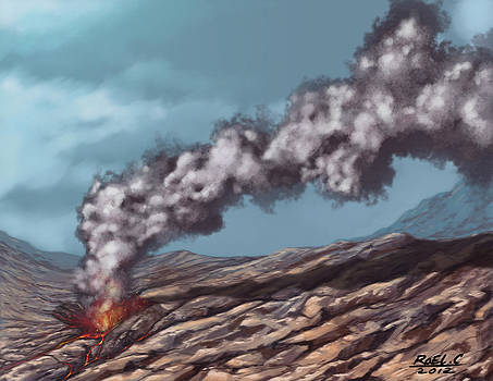 Volcano by Roel Crespo