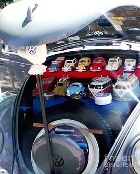 Gail Matthews - Volkswagen with a trunk full of Volkswagens