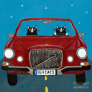 Volvo 164 Cats by Ryan Conners