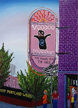 Voodoo Doughnuts 3 by Portland Art Creations