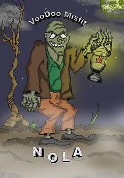VooDoo Misfit-VooDoo Zombie by James Griffin