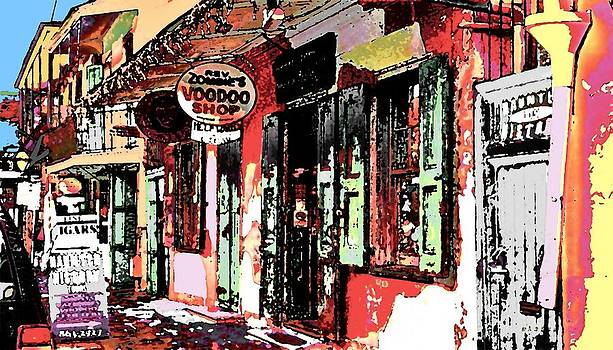 Voodoo Shop by Dlbt-art