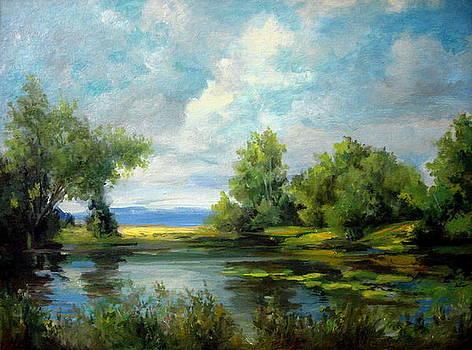 Voronezh River Beauty by Mikhail Savchenko