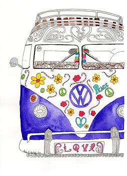 VW Love by Paula Dickerhoff