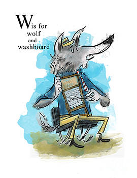 W is for Wolf by Sean Hagan