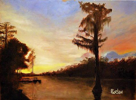 Waccamaw Evening by Phil Burton