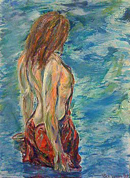 Wading by Nick Vogel
