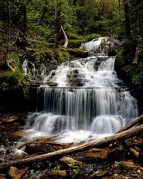 Wagner Falls by Tim Hawkins