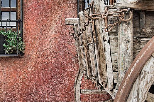 Wagon at the Hacienda by Robert Bascelli