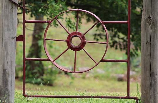 Wagon Wheel by Janet Wagstaff