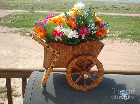 Wagon Wheel Sleigh by Greg Davis