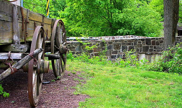 Wagon wheels by Debra Kaye McKrill