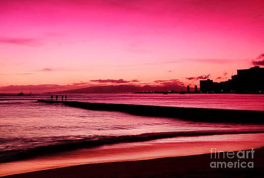 Waikiki Sunset by Kristine Merc