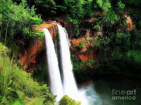 Wailua Falls by Kristine Merc
