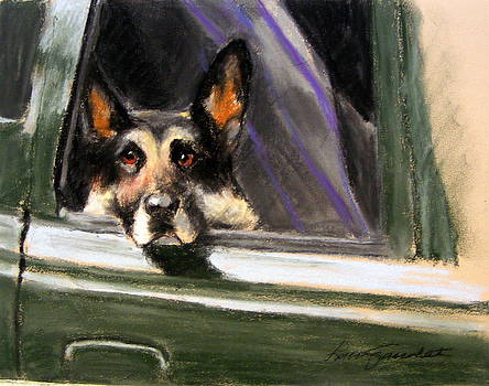 Waiting Patiently by Lenore Gaudet