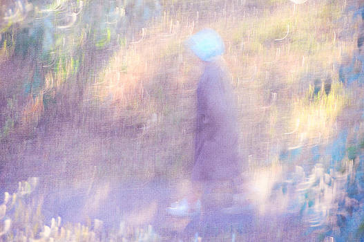 Jenny Rainbow - Walk Through the Light and Shadows. Impressionism