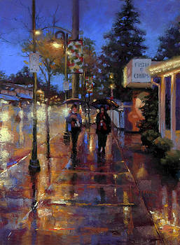 Walkin' in the Rain by Dianna Ponting