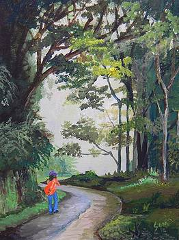 Walking Home by Samantha Rochard
