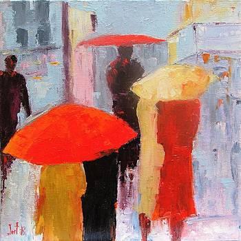 Walking In The Rain by Irit Bourla