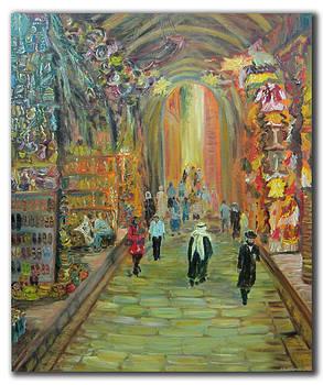 Walking Jerusalem  by Alexander Bukhanov