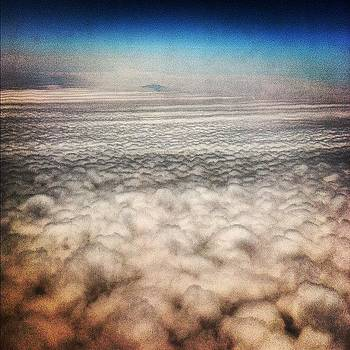 Walking On Clouds. #flying #clouds by Shawn Who
