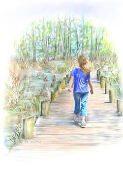 Walking on the Boardwalk by Bonnie Willis