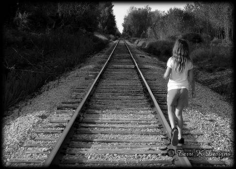 Walking the Rails by Terri K Designs