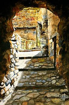 Walkway by Paula Marsh