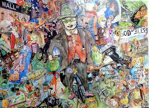 Wall St./Main St. by Barb Greene mann