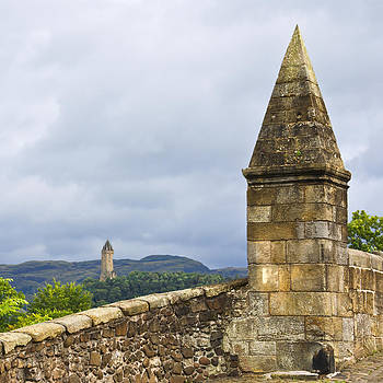 Jane McIlroy - Wallace Monument from Stirling Bridge