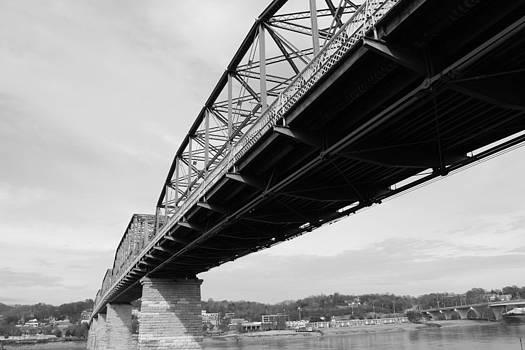 Walnut Street Bridge by Mose Mathis