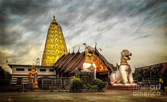 Adrian Evans - Wang Wiwekaram Temple