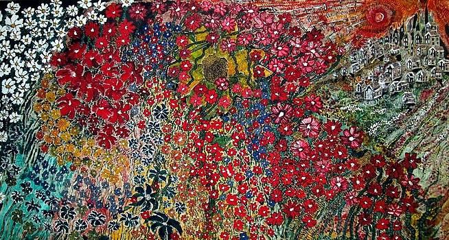 War of Flowers by Matthew  James