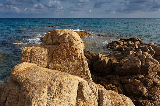 Warm granite by Paul Indigo