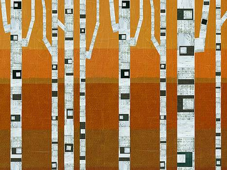 Michelle Calkins - Warm Summer Birches
