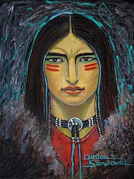 Warrior by Carlos Sandoval