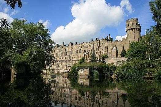 Warwick castle by David Valentyne