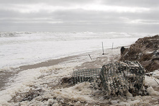 Wash a Shore from storm Saturn  by Eugene Bergeron
